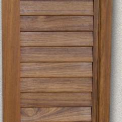 Raised Panel Kitchen Cabinets Toy Hauler With Outdoor Doors-interior - Custom Teak Marine Woodwork