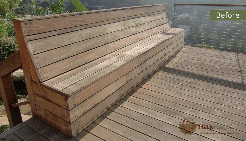 Ipe Wood Deck Refinishing