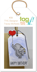 A Watercolor Birthday Tag for Bird Lovers: Inspiration Photo