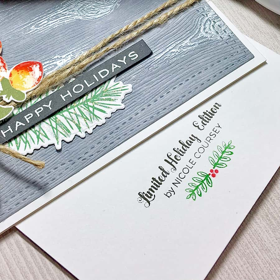 It's amazing what you can make with a Silhouette Mint™. How about a custom signature stamp for your handmade cards?