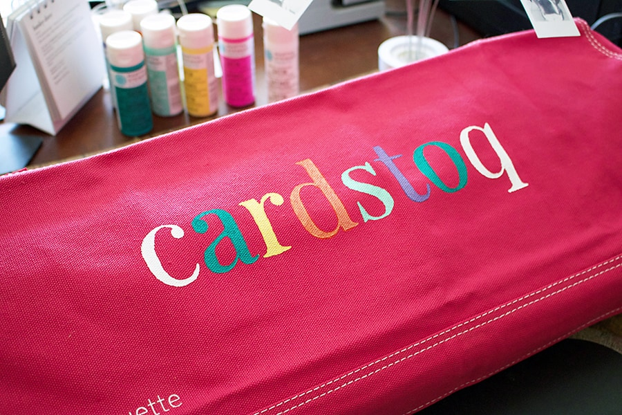 Customizing your CAMEO dust cover with Stencils. Just add paint!