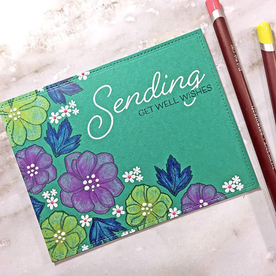 Papertrey March Blog Hop Challenge: Florals