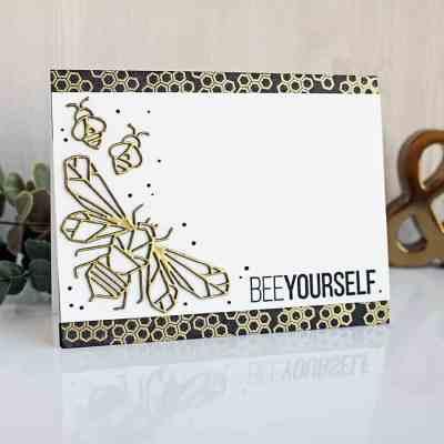 Bee Yourself Honeycomb Card + February 2019 Kit