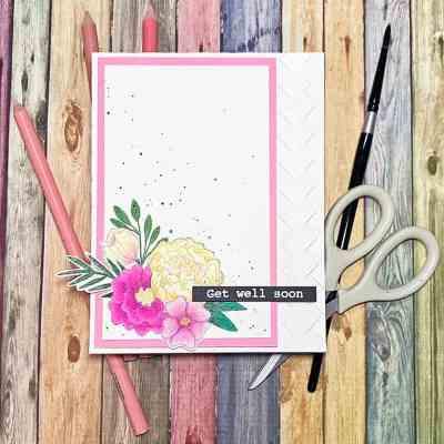 Coloring Florals With Prismacolor Pencils