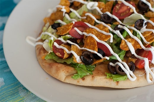 Lazy Taco Pizza