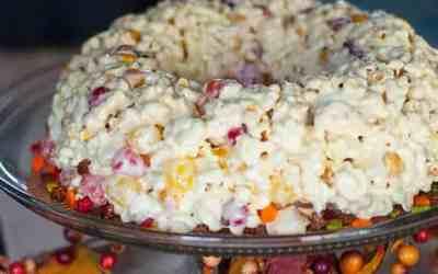 Harvest Spice Popcorn Cake