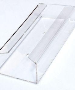 Polycarbonate paper towel holder for Teal mobile sinks