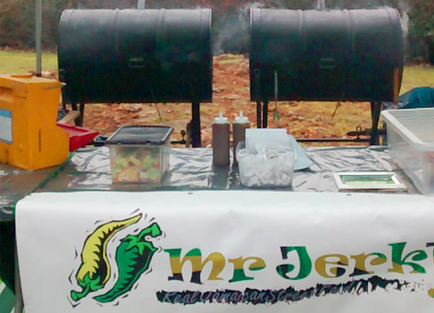 Mobile sinks for street food catereers