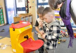 Hand washing teaching is vital for children