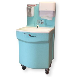 New MediWash portable hand washing for hospitals 1