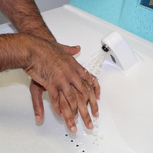 New MediWash portable hand washing for hospitals 6