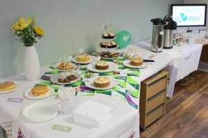 Cakes galore at Macmillan Coffee Morning in Coleshill in Warwickshire