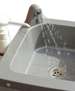 Bowl of grey Stallette mobile sink