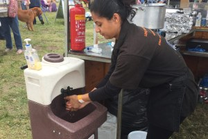 The importance of effective handwashing at farmers markets