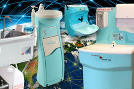 Buy or rent portable hand wash units from Teal