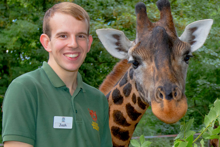 Dudley Zoo education presenters host daily animal encounters for visitors