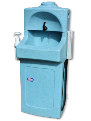 KiddiSynk portable childs handwash unit in blue