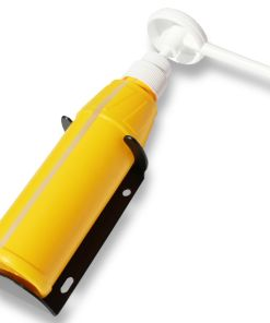 Yellow soap bottle for Teal portable hand wash unit