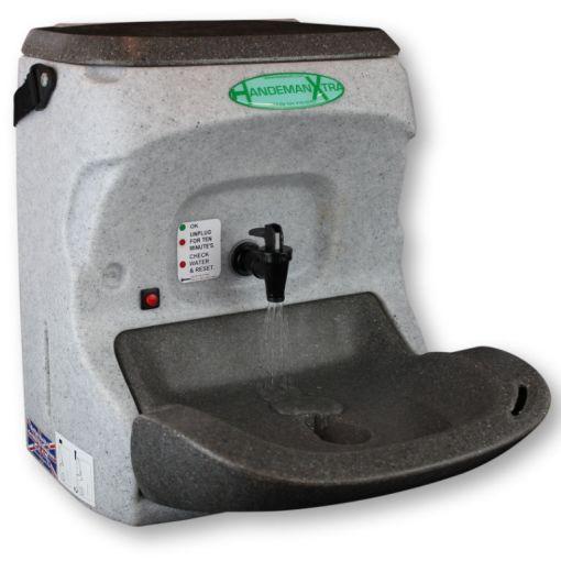 The HandeMan Xtra 230V portable hand wash unit