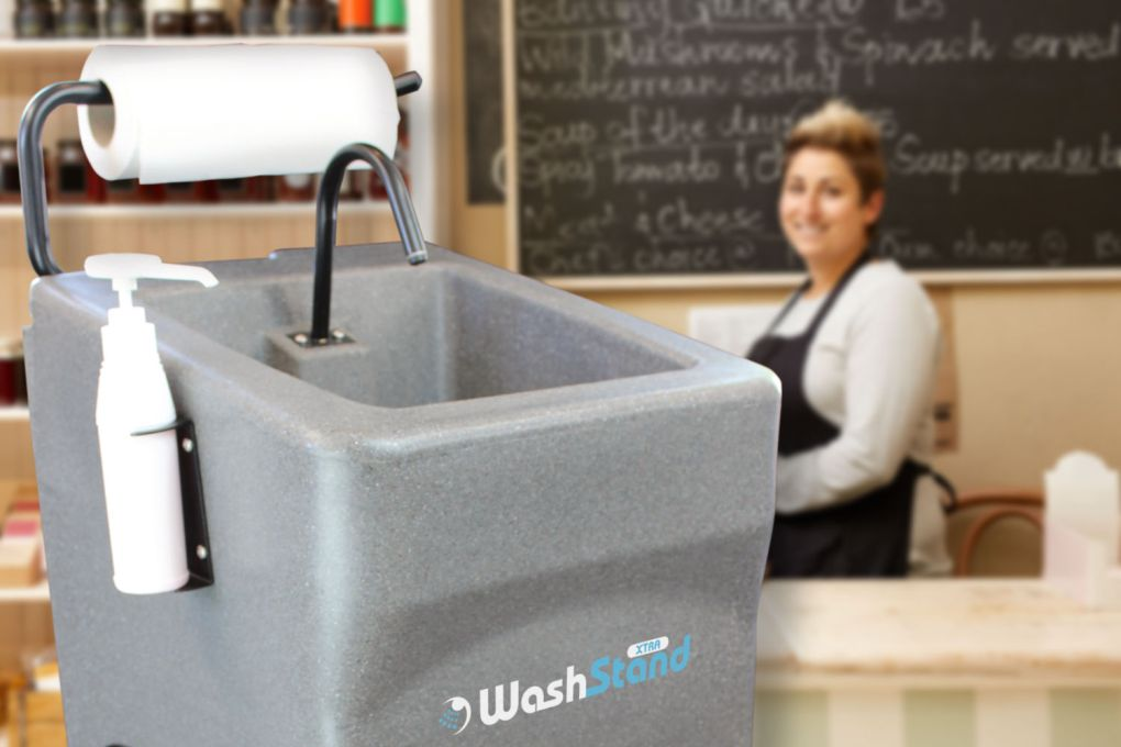 WashStand Xtra mobile sink for caterers