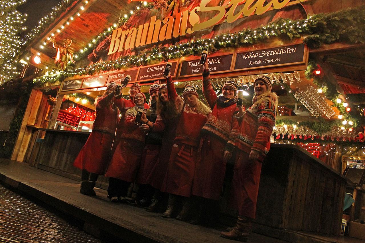 Weihnachtsmarkt Team