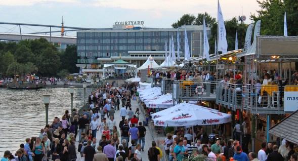 Hannover Maschsee an der Hannover 96 Arena