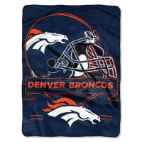 NFL Denver Broncos 60x80 Super Plush Throw Blanket