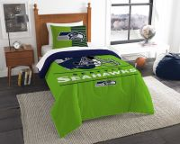 NFL Seattle Seahawks Twin Comforter Set - Buy at Team ...