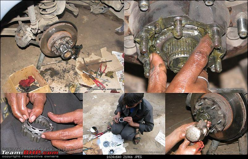 Toyota Landcruiser - 80 Series HDJ80 - Maintenance Update (pg.8)-602-greasing-final-assembly-progress.jpg