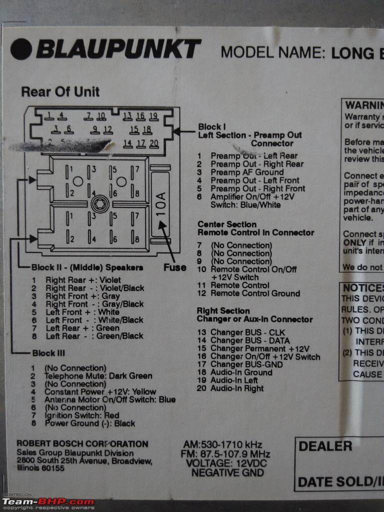 medium resolution of blaupunkt car stereo wiring diagrams wiring diagram technic blaupunkt stereo wiring diagram blaupunkt car stereo wiring