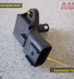 diy fix ford fusion fiesta 1 6l check engine light issue fiesta the map sensor  [ 1133 x 851 Pixel ]