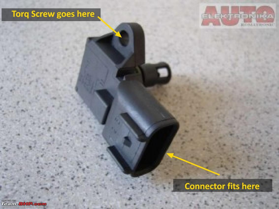 hight resolution of diy fix ford fusion fiesta 1 6l check engine light issue fiesta the map sensor