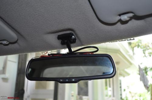 small resolution of diy install auto dimming irvm anti glare orvms new irvm
