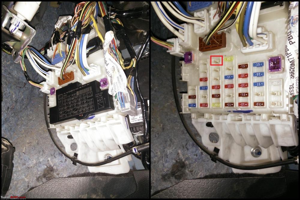 medium resolution of maruti swift diy drl installation 4 bcm jpg