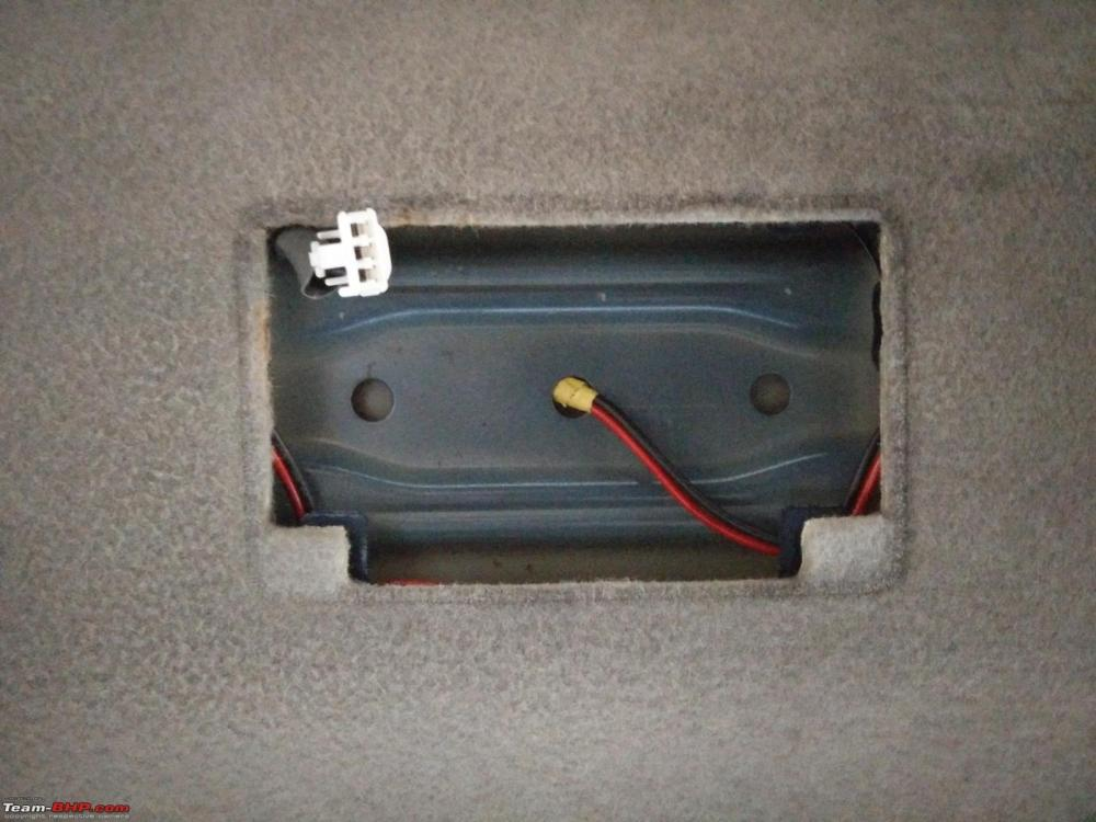 medium resolution of d i y install led footwell lighting 3 wiring passed cabin