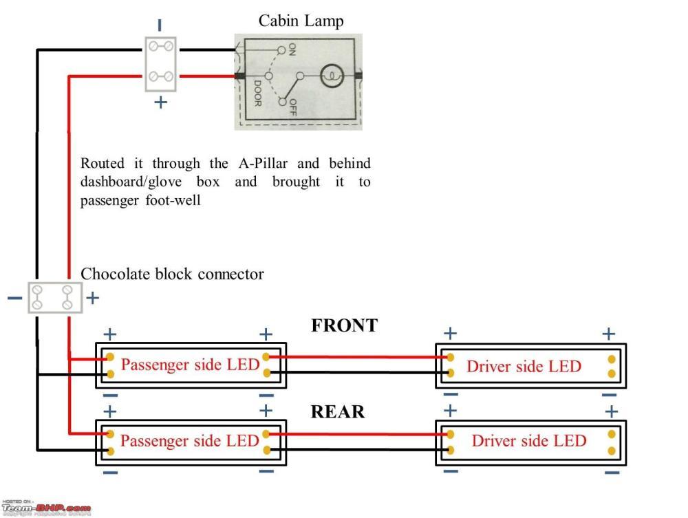 medium resolution of d i y install led footwell lighting untitled1 jpg