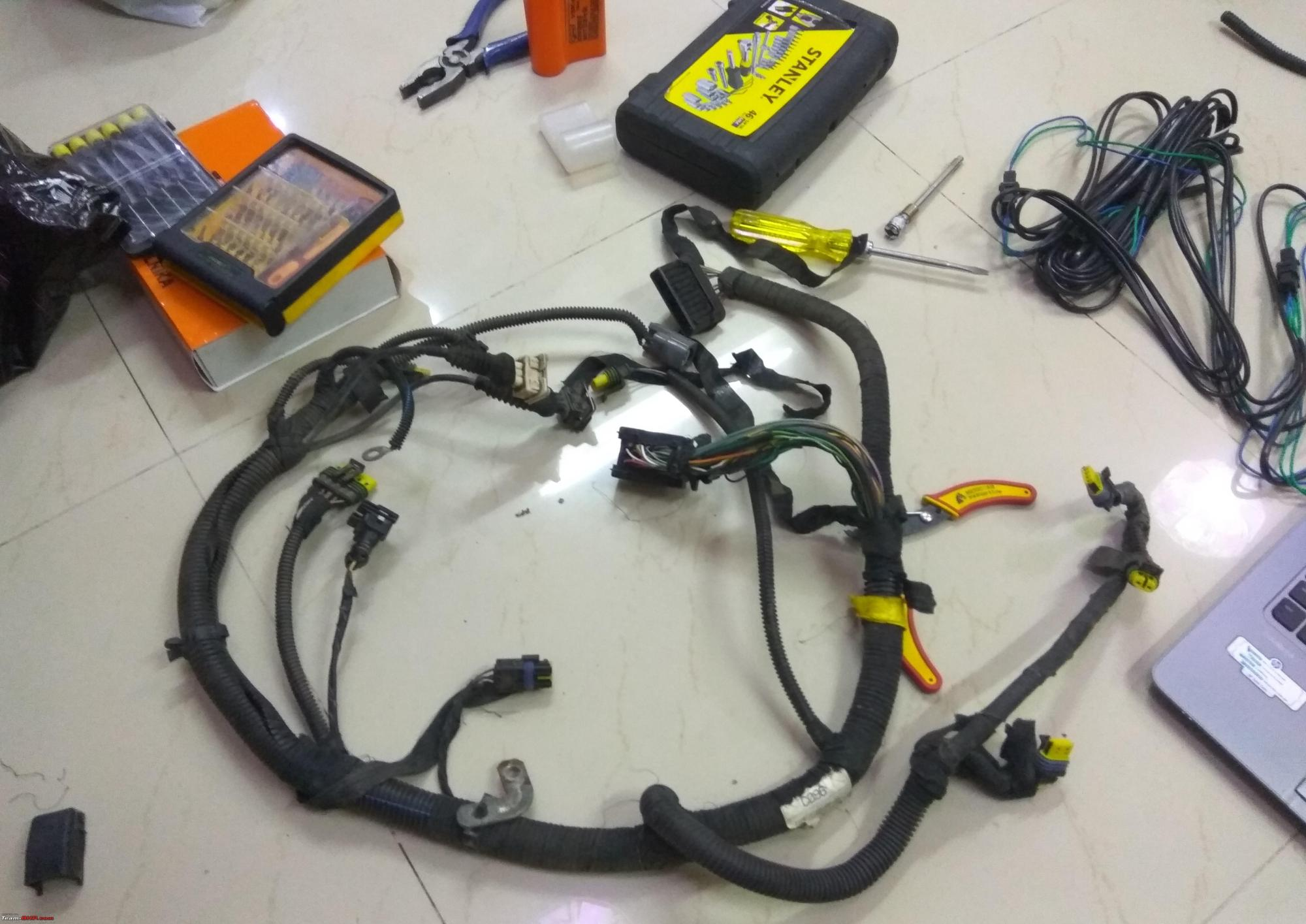 hight resolution of diy supercharged fiat palio 1 6 oe wiring loom jpg