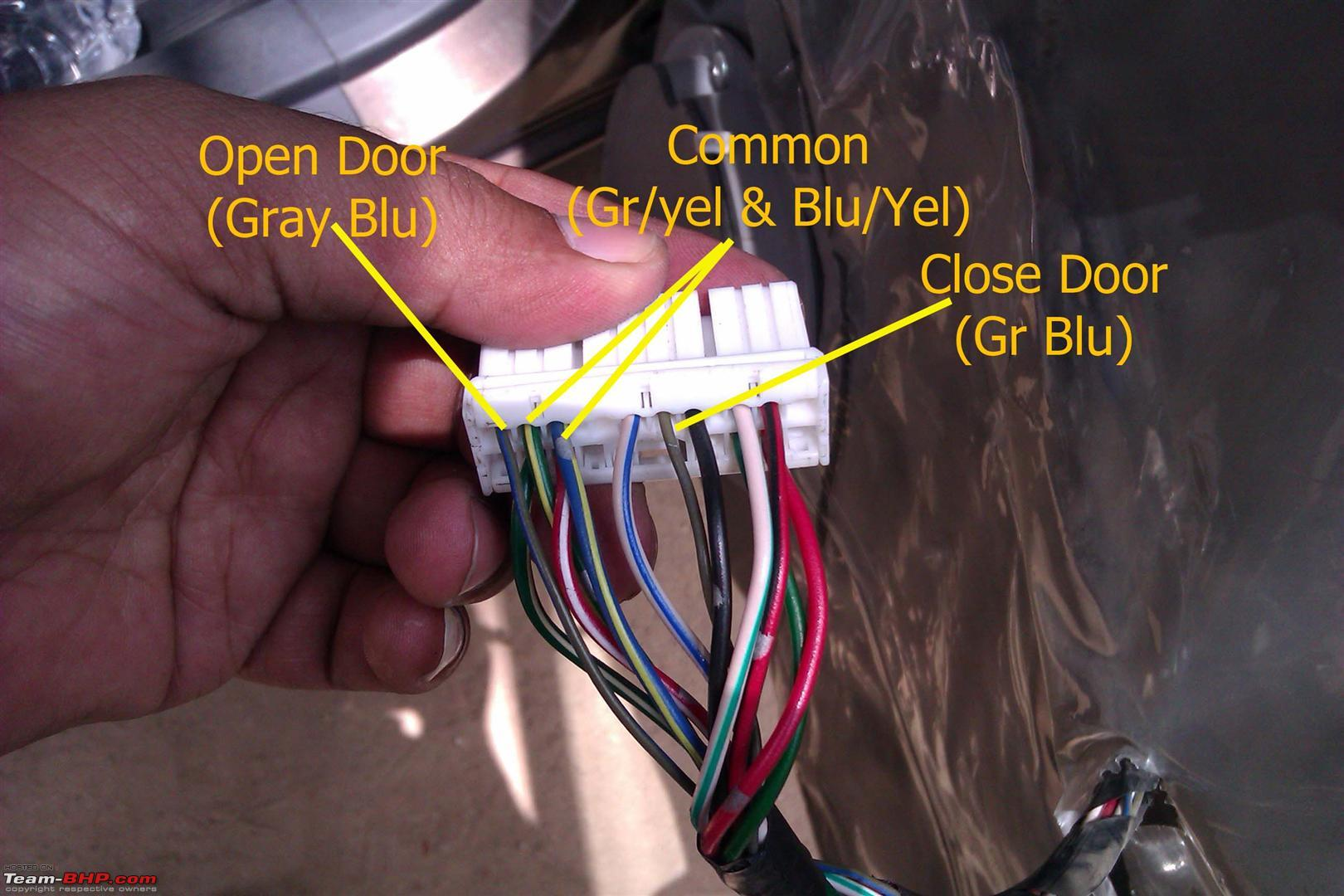 hight resolution of diy a sunday well used to install autocop keyless entry in ritz vdi 1c