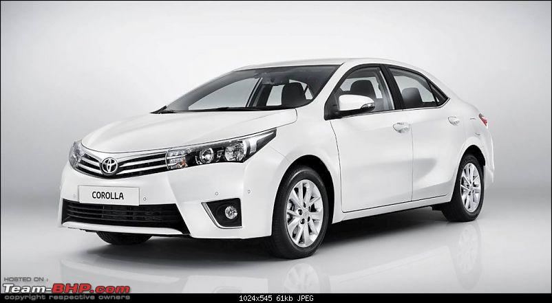 new corolla altis launch date in india toyota yaris trd sportivo 2014 corolla: global best-selling car of 2013 - team-bhp