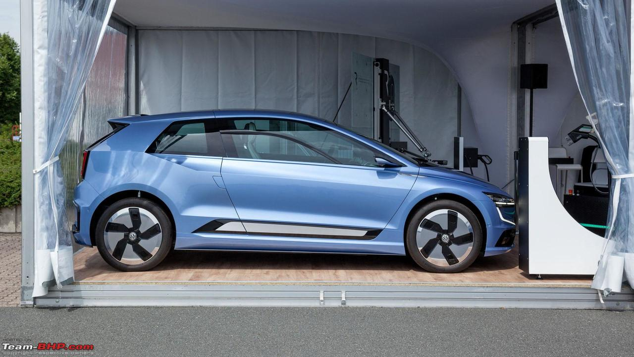 hight resolution of the 2018 volkswagen golf mk8 volkswagengeneresearchvehicle jpg