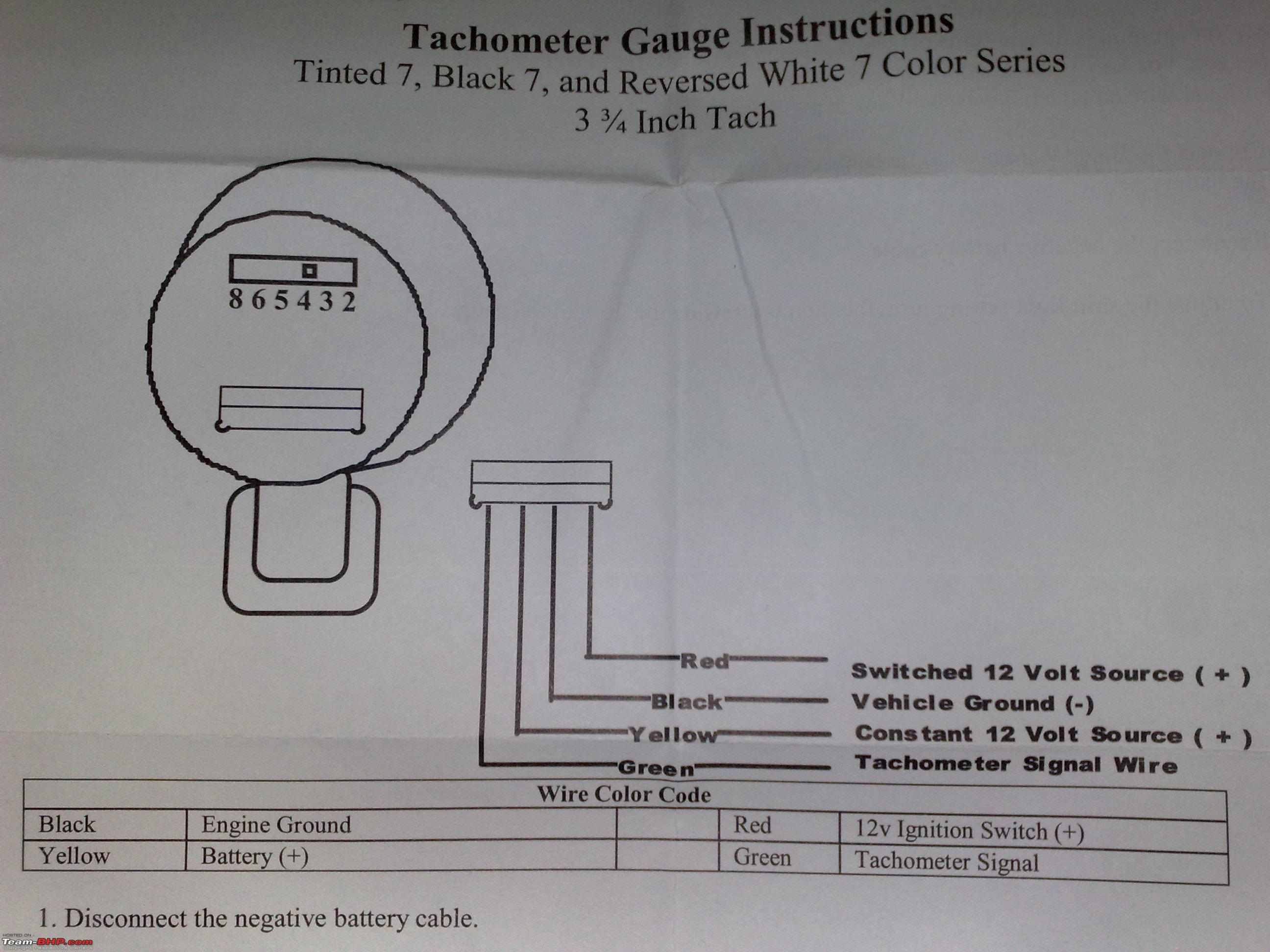 Tachometers Page 15 Team BHP