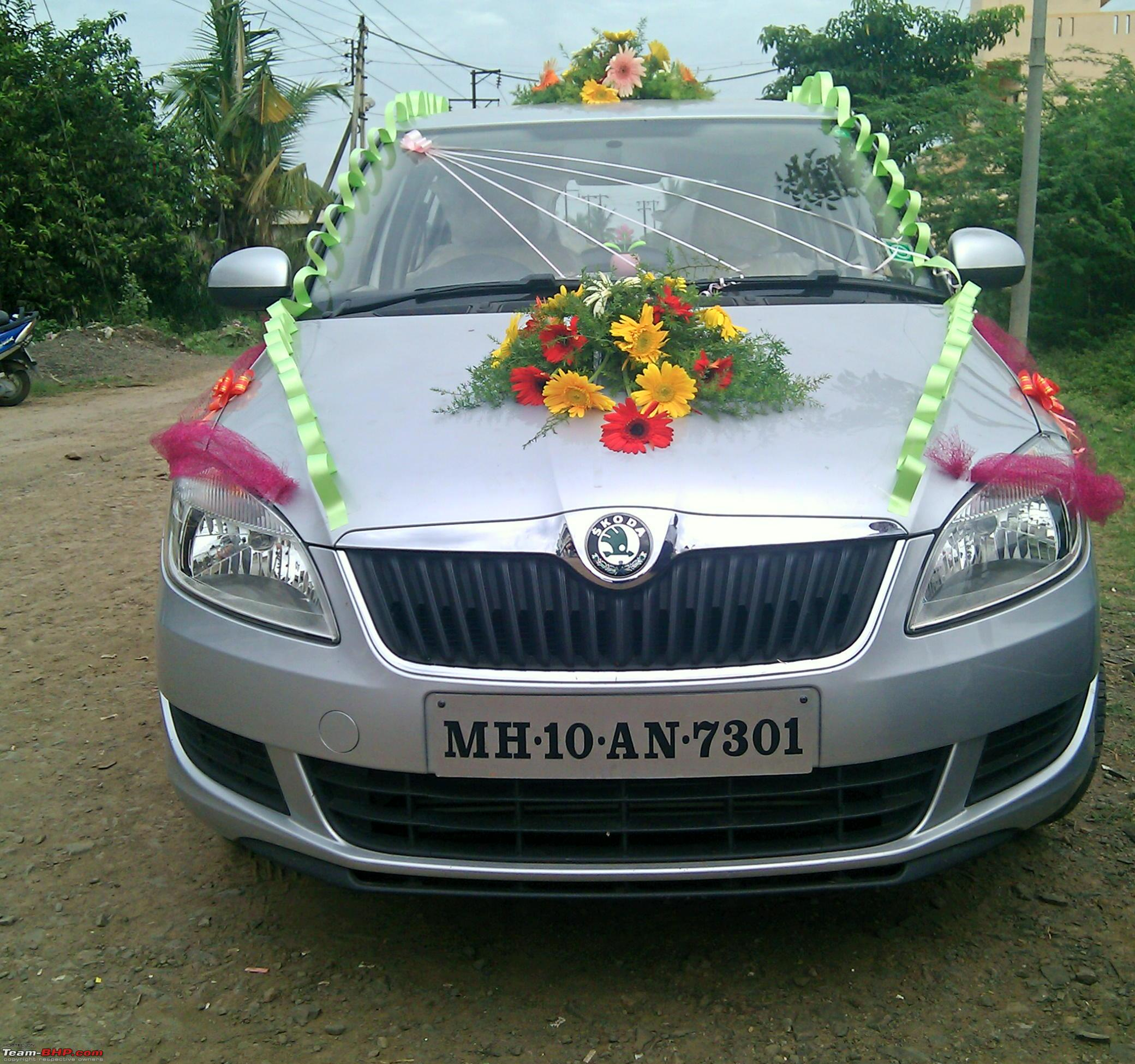Decorating my Car for a Marriage function  Page 2  TeamBHP