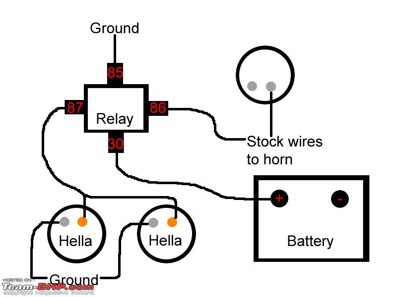 wiring diagram for horn relay  u2013 powerking co