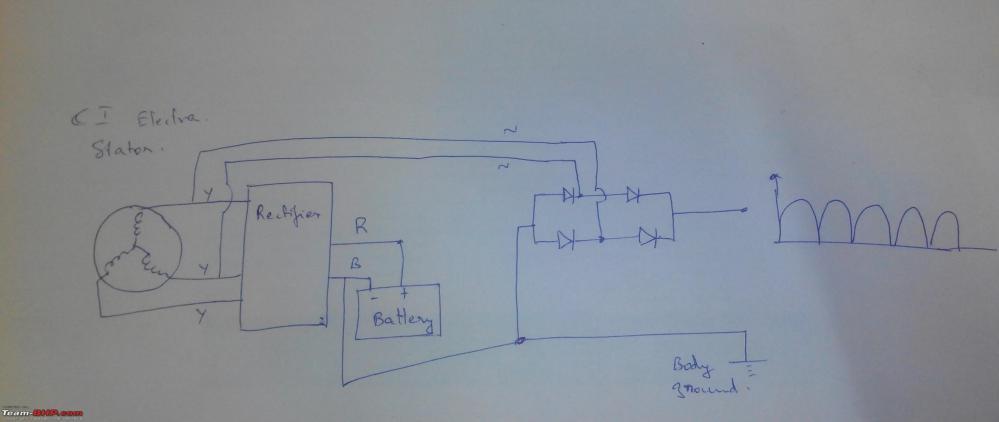 medium resolution of royal enfield 350 electra restoration upgrades dc regulation jpg