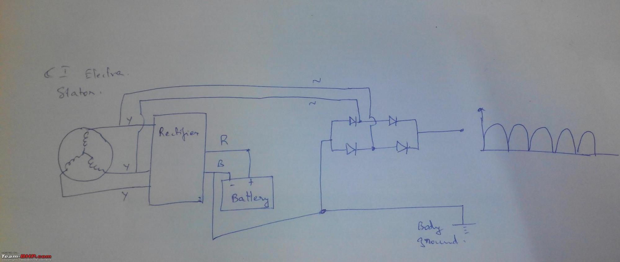 hight resolution of royal enfield 350 electra restoration upgrades dc regulation jpg