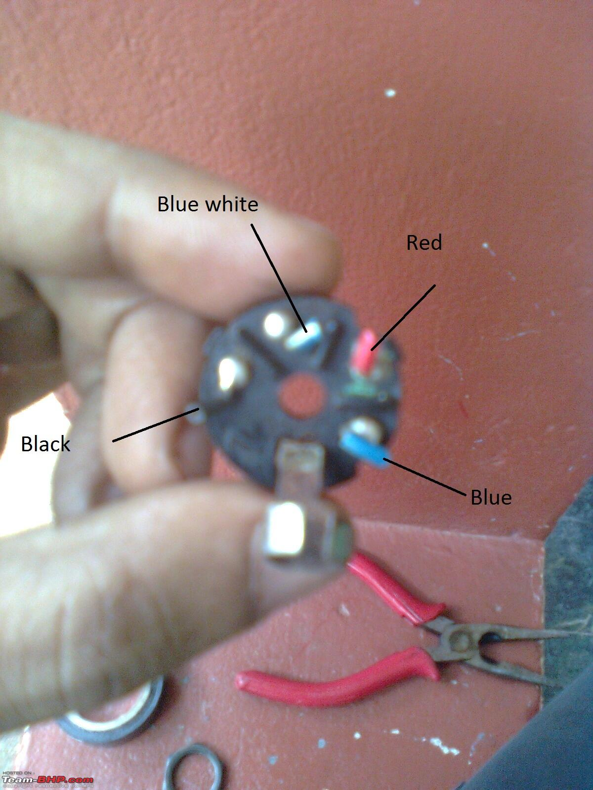 motorcycle wiring diagram human liver cell labeled diy: royal enfield bullet - ignition key assembly cleaning / replacing team-bhp