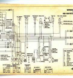 bajaj chetak wiring diagram [ 1600 x 1027 Pixel ]