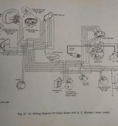 wiring diagram for bajaj super blog wiring diagram bajaj super wiring harness [ 4032 x 3024 Pixel ]