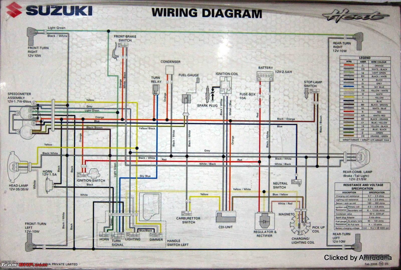 house wiring diagram india 1995 ford explorer stereo diagrams of indian two wheelers team bhp