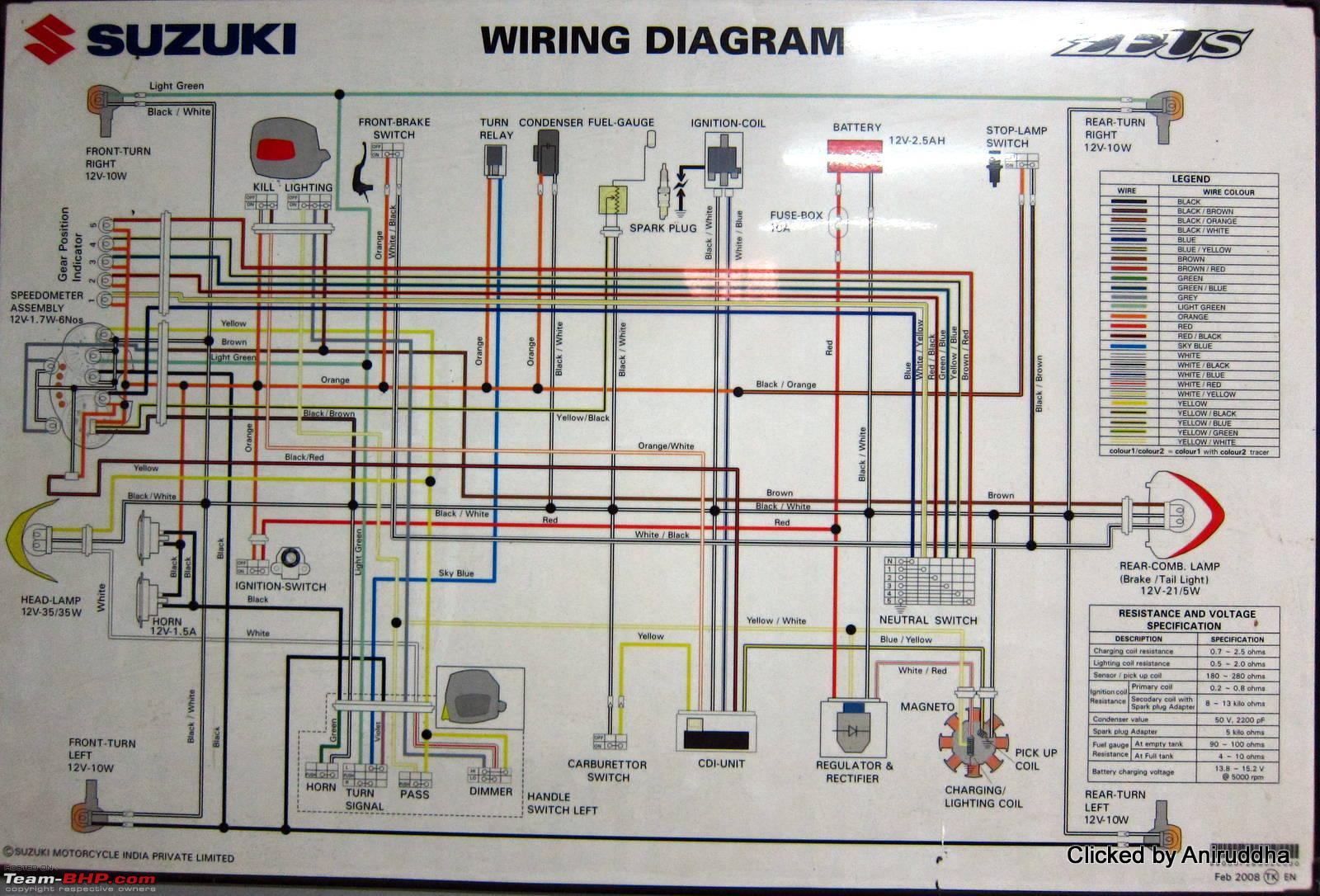 wiring circuits diagrams ls1 diagram of indian two wheelers team bhp